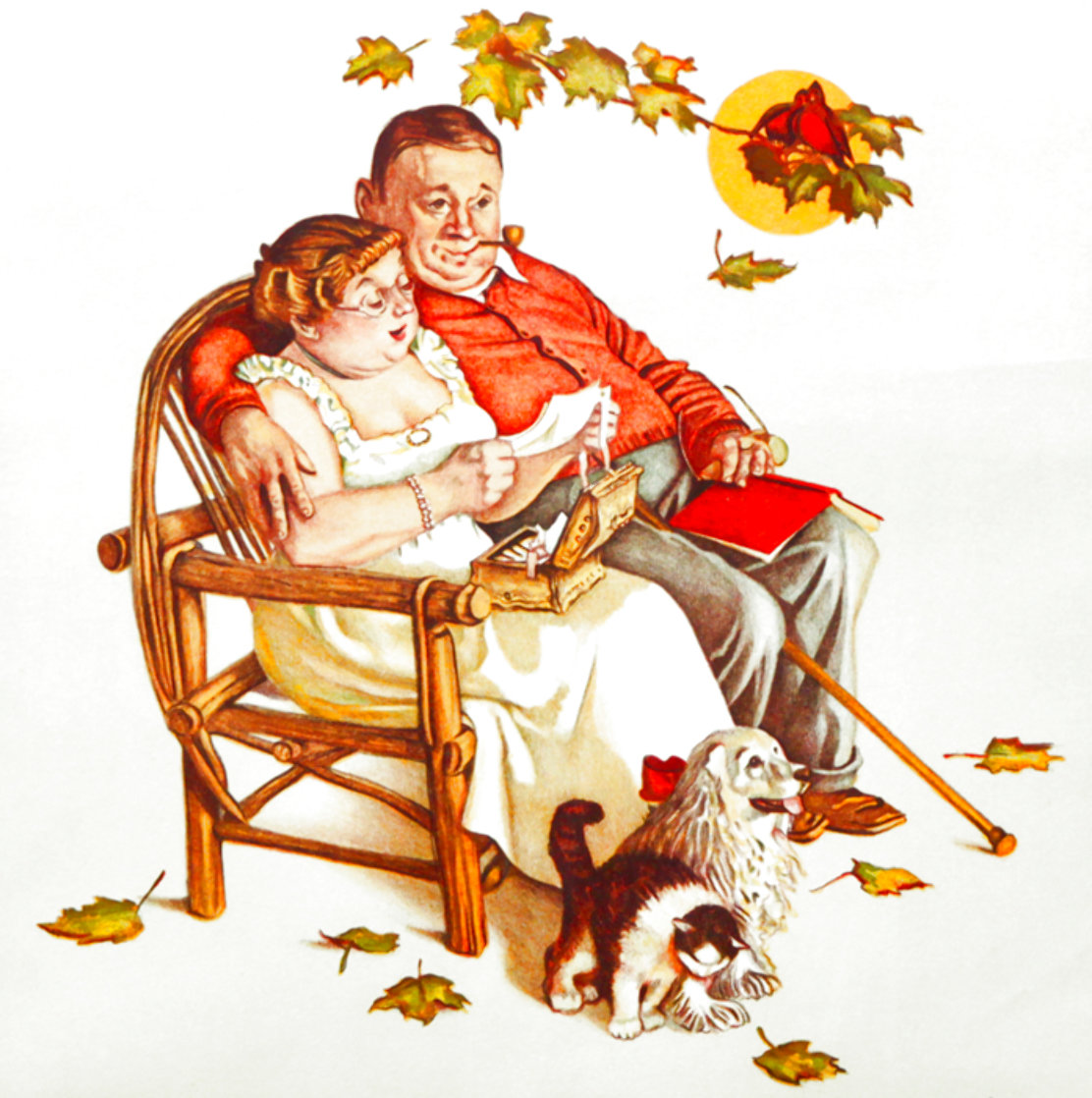Fondly Do We Remember AP Limited Edition Print by Norman Rockwell