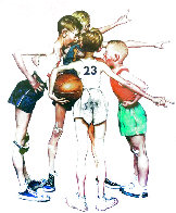 Four Sporting Boys: Basketball Limited Edition Print by Norman Rockwell - 0