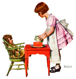 See How Easy It Is? 2012 Limited Edition Print - Norman Rockwell