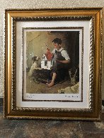 Painting the Little House 2011 Limited Edition Print by Norman Rockwell - 1