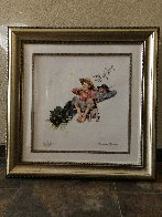 Grandpa and Me Suite: Picking Daisies AP 2012 Limited Edition Print by Norman Rockwell - 1