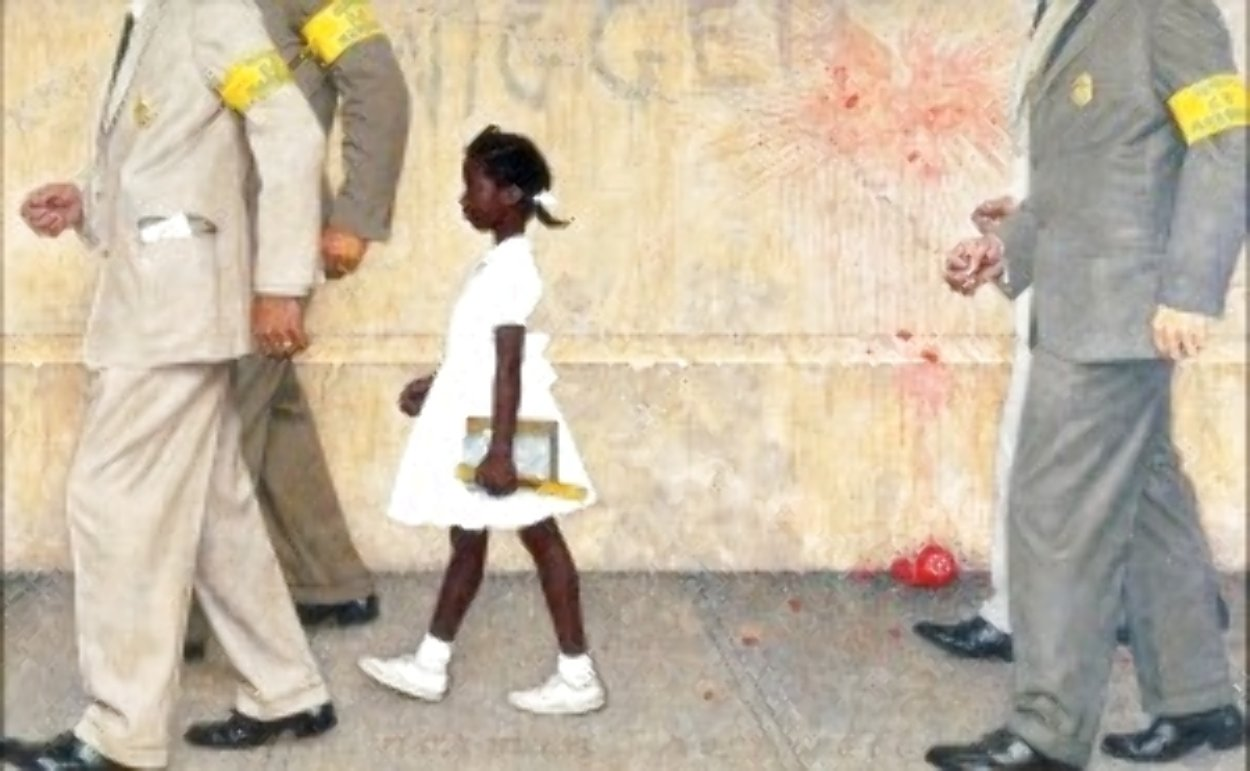 Problems We All Live With 1964 1981 Limited Edition Print by Norman Rockwell