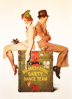 Gaiety Dance Team Limited Edition Print - Norman Rockwell