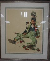 Rejected Suitor 1976 Limited Edition Print by Norman Rockwell - 1