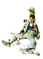 Rejected Suitor 1976 Limited Edition Print by Norman Rockwell - 0