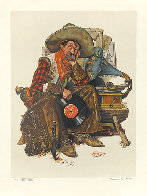 Dreams of Long Ago Limited Edition Print by Norman Rockwell - 0
