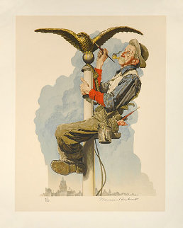 Gilding the Eagle Limited Edition Print by Norman Rockwell