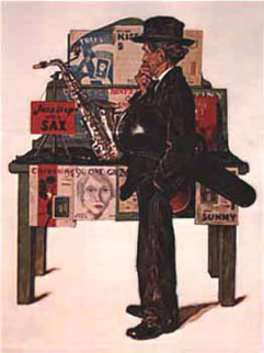 Jazz it Up 1979 Limited Edition Print by Norman Rockwell