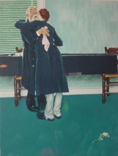 They Cried Their Eyes Out Limited Edition Print - Norman Rockwell