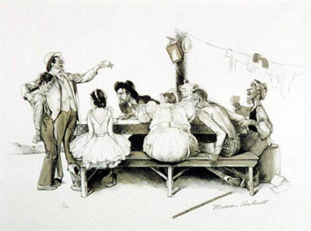 Circus 1971 Limited Edition Print by Norman Rockwell