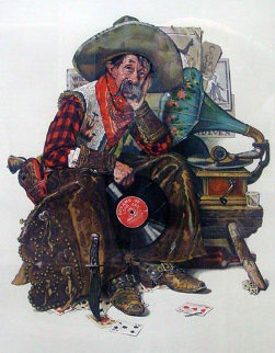 Days of Long Ago 1977 Limited Edition Print by Norman Rockwell