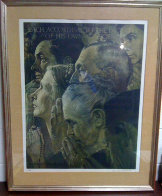 Freedom of Religion 1972 Limited Edition Print by Norman Rockwell - 1