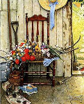 Spring Flowers AP Limited Edition Print - Norman Rockwell