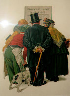 Stock Exchange 1977 Limited Edition Print by Norman Rockwell - 0
