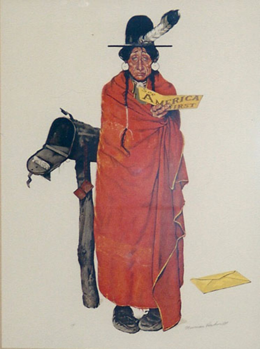 See America First AP Limited Edition Print by Norman Rockwell
