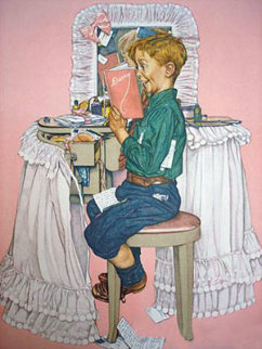 Secrets AP Limited Edition Print - Norman Rockwell