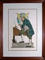 Ben Franklin 1976 Limited Edition Print by Norman Rockwell - 1