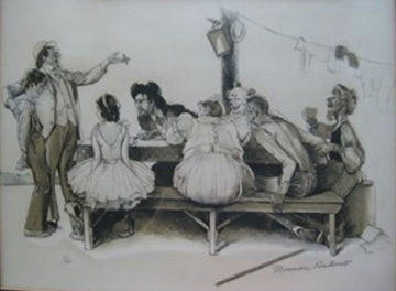 Circus 1975 Limited Edition Print by Norman Rockwell