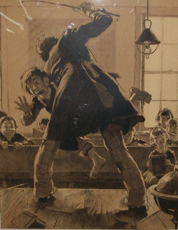 Spanking Limited Edition Print - Norman Rockwell