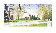 Springtime in Stockbridge Poster HS Limited Edition Print by Norman Rockwell - 1