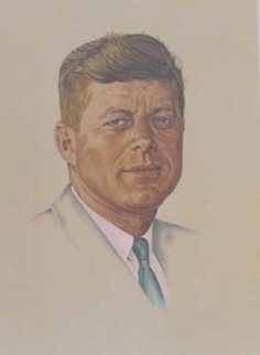 John F. Kennedy 1976 Limited Edition Print - Norman Rockwell