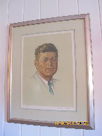 John F. Kennedy 1976 Limited Edition Print by Norman Rockwell - 1