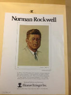 John F. Kennedy 1976 Limited Edition Print by Norman Rockwell - 4