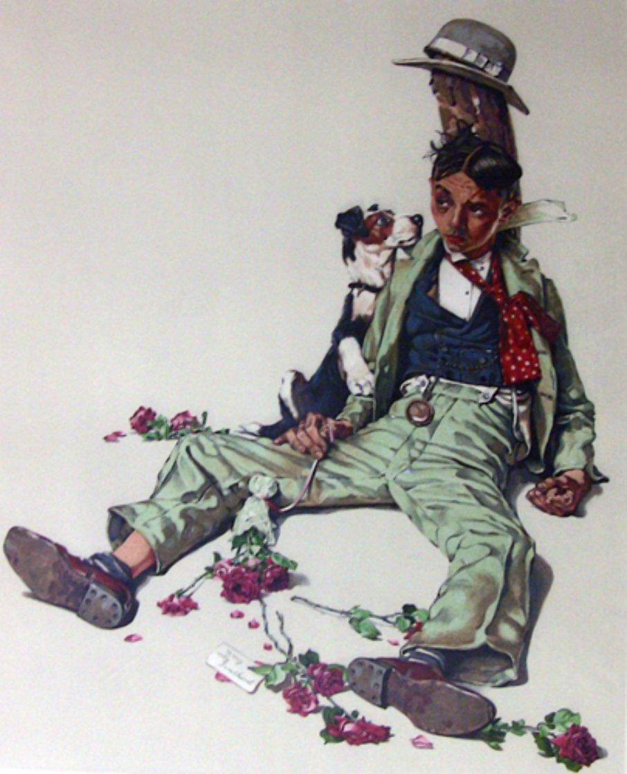 Rejected Suitor 1976 Limited Edition Print by Norman Rockwell