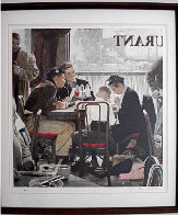 Saying Grace AP Limited Edition Print by Norman Rockwell - 1