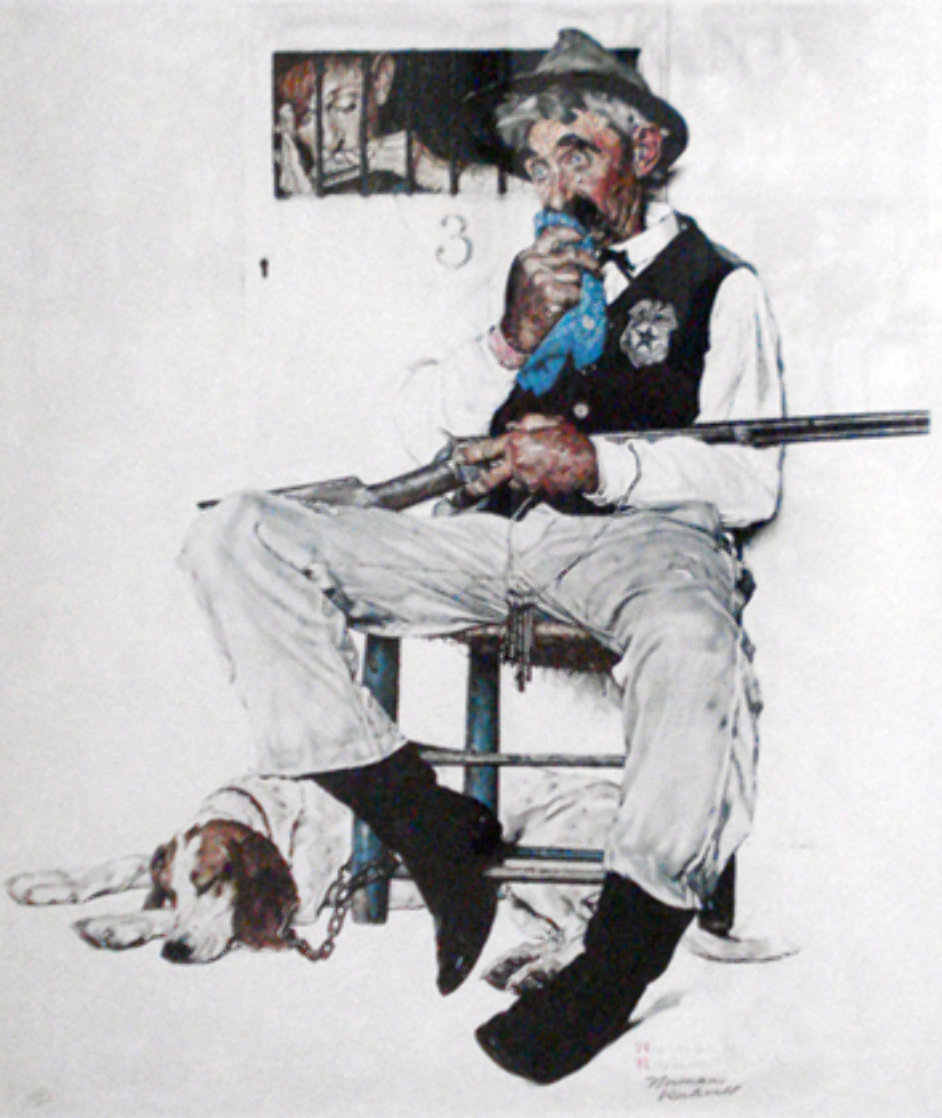 Music Hath Charms AP Limited Edition Print by Norman Rockwell