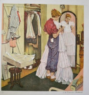 Before the Dance Limited Edition Print by Norman Rockwell