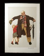Child's Surprise AP 1976 Limited Edition Print by Norman Rockwell - 1