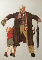 Child's Surprise AP 1976 Limited Edition Print by Norman Rockwell - 0