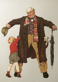Child's Surprise AP 1976 Limited Edition Print by Norman Rockwell