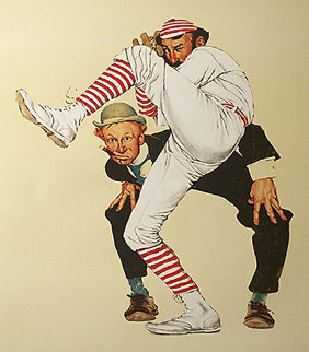 Wind-up AP 1976 Limited Edition Print - Norman Rockwell