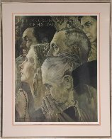 Freedom of Worship AP 1970 Limited Edition Print by Norman Rockwell - 1