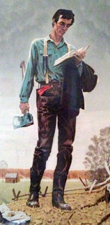 Young Lincoln 1977 Limited Edition Print - Norman Rockwell