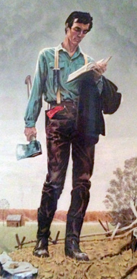 Young Lincoln 1977 Limited Edition Print by Norman Rockwell