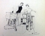 Settling In 1979 Limited Edition Print - Norman Rockwell