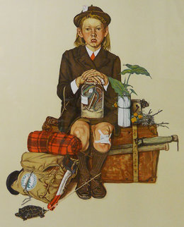 Home From Camp AP 1976 Limited Edition Print by Norman Rockwell