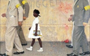 Problems We All Live With 1964 1981 Limited Edition Print - Norman Rockwell