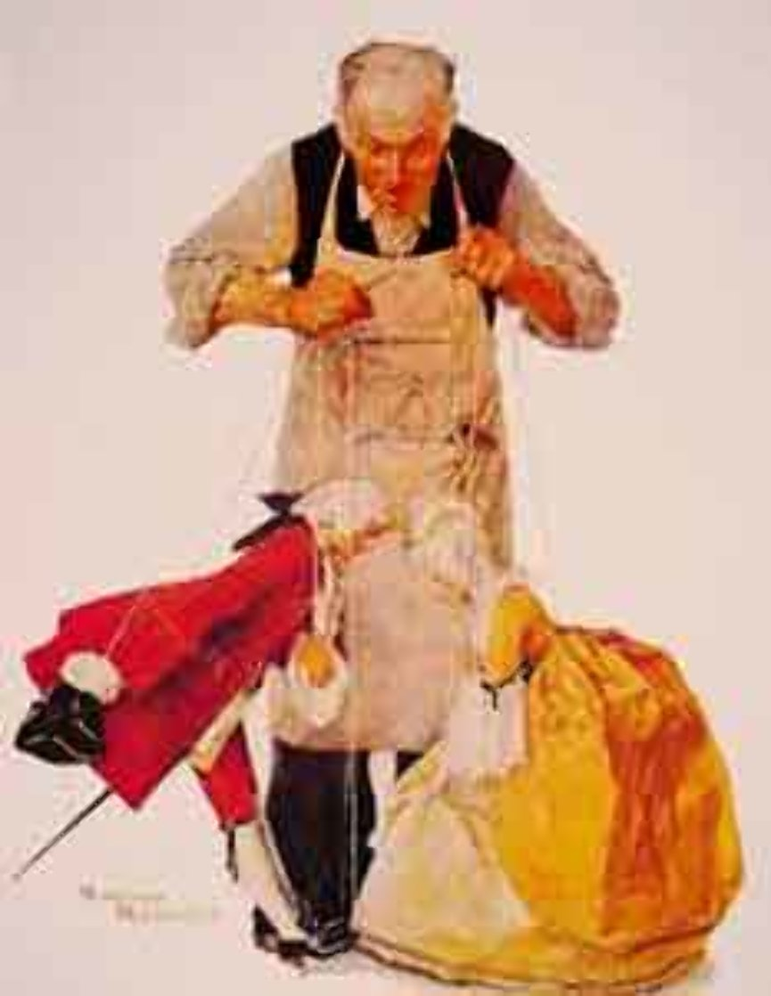 Rock Puppeteer Limited Edition Print by Norman Rockwell
