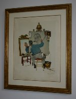 Triple Self-Portrait Limited Edition Print by Norman Rockwell - 3