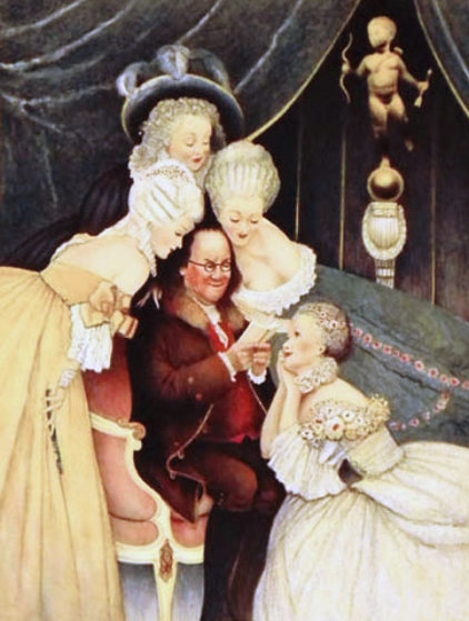 Ben's Belles 1973 Limited Edition Print by Norman Rockwell