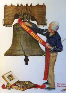 Celebration 1976 Limited Edition Print - Norman Rockwell