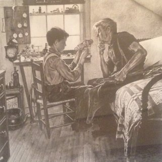 Inventor Limited Edition Print by Norman Rockwell