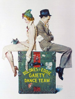 Gaiety Dance Team 1979 Limited Edition Print by Norman Rockwell