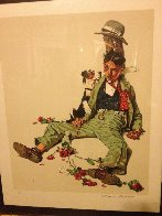 Rejected Suitor 1976 Limited Edition Print by Norman Rockwell - 2