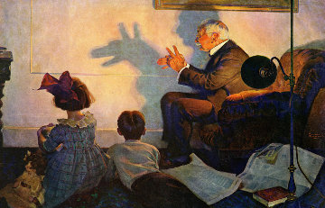 Children's Hour 2011 Limited Edition Print - Norman Rockwell