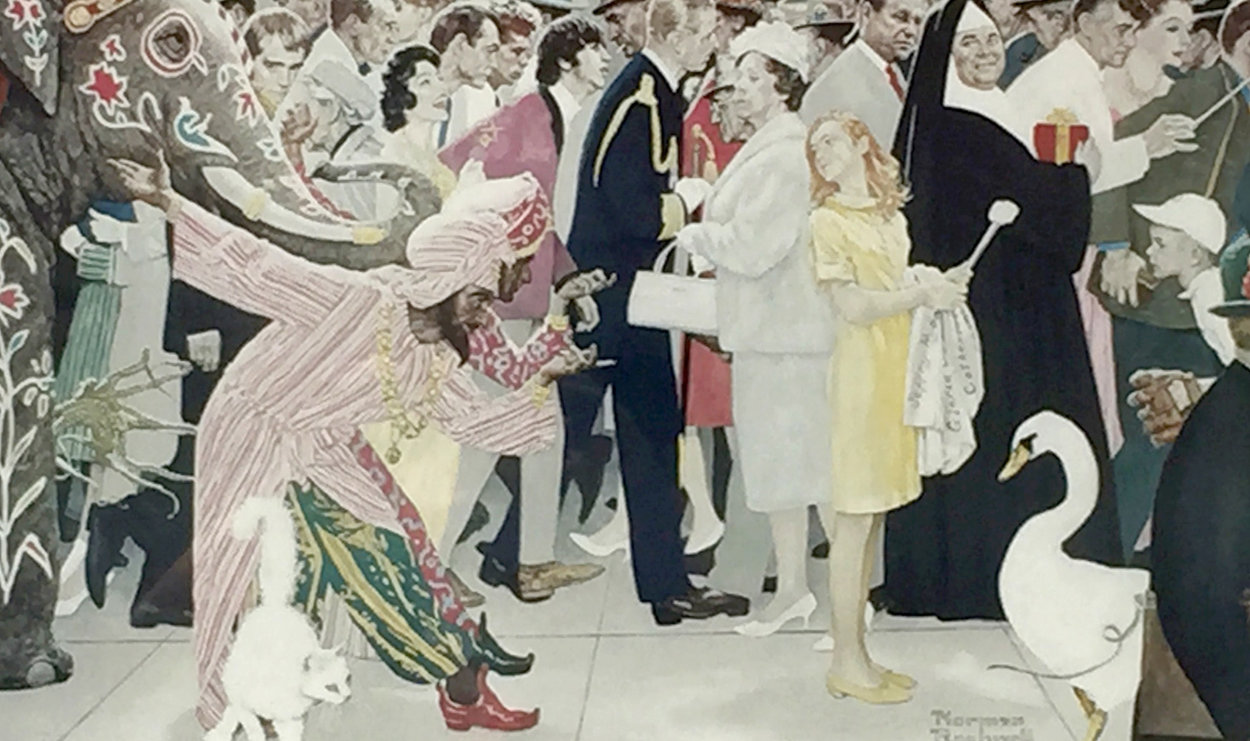 Saturdays People AP 1972 Limited Edition Print by Norman Rockwell